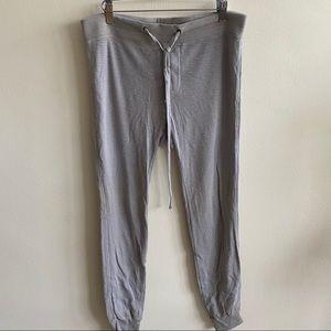 James Perse 100% Cotton Jersey Knit Sweatpants